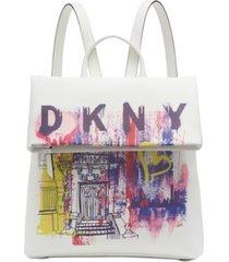 dkny tilly medium flap backpack