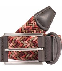 anderson's belts woven fabric belt - red multi a1097 af2846 m1