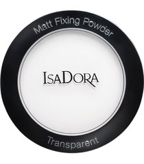 matt fixing blotting trasparent powder