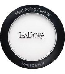 matt fixing blotting trasparent powder