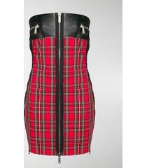 dsquared2 two tone tube dress