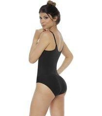 fajas mujer body control panty  senos libres body line control 1015- negro