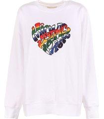 michael kors sweatshirt with contrast detail