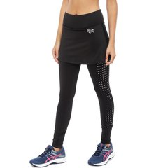 legging everlast long skirt award negro - calce ajustado
