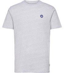 timmi recycled cotton t-shirt t-shirts short-sleeved grå kronstadt