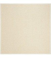 safavieh natural fiber creme 6' x 6' sisal weave square area rug