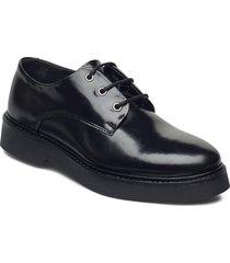 billie l snörade skor låga svart shoe the bear