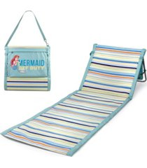 picnic time disney's the little mermaid beachcomber portable beach chair tote