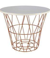mesa de canto / lateral para vasos, objetos, decoração - lojas carisma - kanui