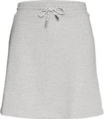 skirts knitted kort kjol grå edc by esprit