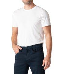 men's swet tailor duo cotton blend stretch slim fit pants, size 40 x 32 - blue