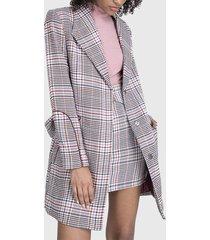 abrigo io  multicolor - calce regular