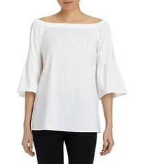 rosario off-the-shoulder top