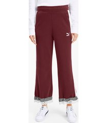 puma x tyakasha knitted culottes voor dames, maat m