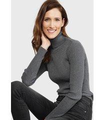 sweater wados gris - calce ajustado