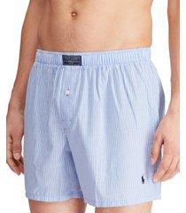 polo ralph lauren men's patterned woven boxers