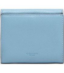 coach women's tabby small wallet - azure