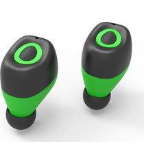 audifonos bluetooth mini auricular inalámbricos manos libres - verde