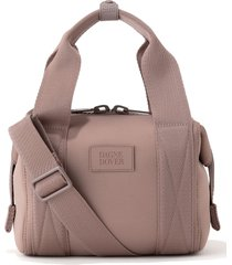dagne dover extra small landon carryall duffle bag - brown