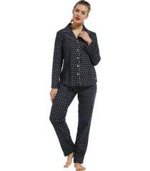 dames pyjama flanel pastunette 20212-152-6-48