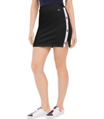 tommy hilfiger sport logo mini skirt