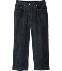 7/8-broek in trendy brede rib, antraciet 42