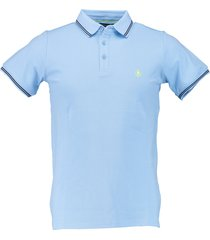 born with appetite jason - polo fine pique 18108ja40/210 l blue