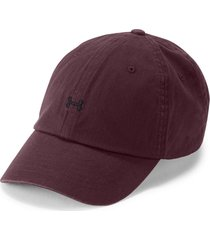 gorra under armour favorite logo-vinotinto