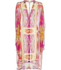 etro ponza ethnic print silk and cotton kaftan