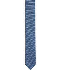 krawat platinum niebieski classic 245
