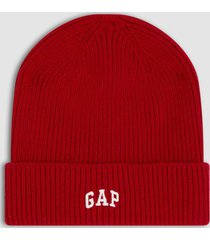 gorro logo rojo gap