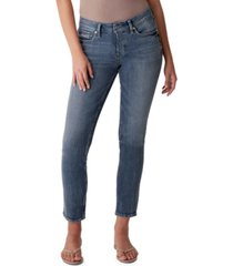 silver jeans co elyse straight-leg jeans