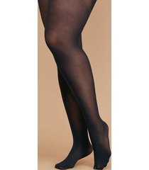 lane bryant women's level 1 high-waist smoothing tights - opaque a-b black