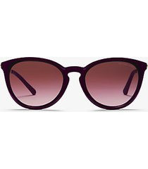 mk occhiali da sole chamonix - prugna (viola) - michael kors