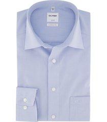 olymp luxor comfort fit overhemd lichtblauw strijkvrij