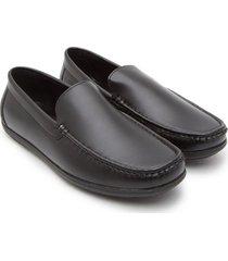 mocasines color negro, talla 38