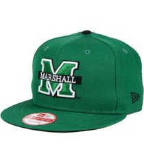 new era marshall thundering herd core 9fifty snapback cap