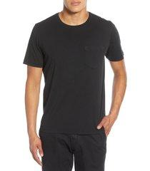 men's billy reid crewneck t-shirt, size large - brown