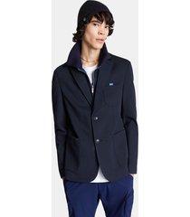 blazer sporty neck - blue - 56