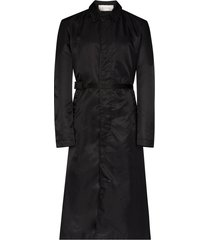 1017 alyx 9sm single-breasted belted coat - black
