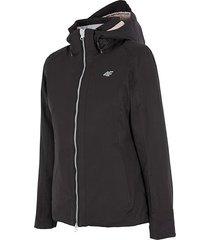 4f women's ski jacket h4z17-kudn005blk
