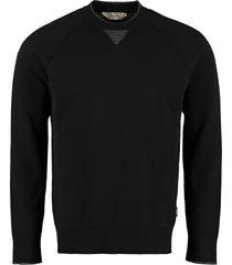 z zegna cotton crew-neck sweater