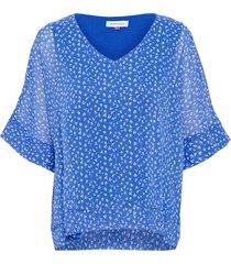 10702288 dhlou blouse 38071 dazzling blue