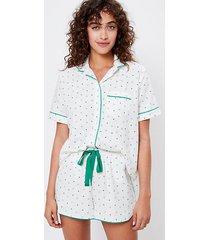 loft lucky pajama top
