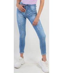 jeans pitillo celeste night concept