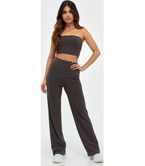 nly trend tube rib set jumpsuits