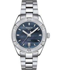 reloj tissot para mujer - pr 100 classic  t101.910.11.121.00