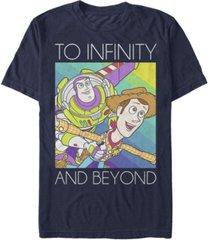 fifth sun men's infinity short sleeve crew t-shirt