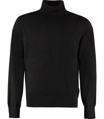 z zegna wool turtleneck sweater