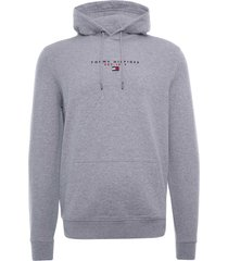 tommy hilfiger essential organic cotton terry hoodie | grey | 17382-p91